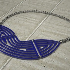 Free STL files Concentric Statement Necklace, Khuzural