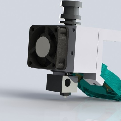 Plan imprimante 3D gatuit Cyrus V2 Pièces de rechange ; porte-échantillons E3D, Khuzural