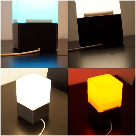 74e542fa3681de4d0c1f677f9e1d670f_display_large.jpg Download free STL file Cube Lamp • Design to 3D print, csigshoj