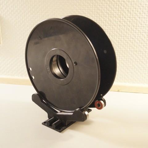 Télécharger fichier 3D gratuit Sitting Support de bobine avec roulements et largeur sur mesure, csigshoj