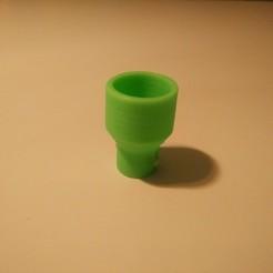 Download free 3D printer templates Liquid Force Maxflow Kite Pump Adapter, csigshoj