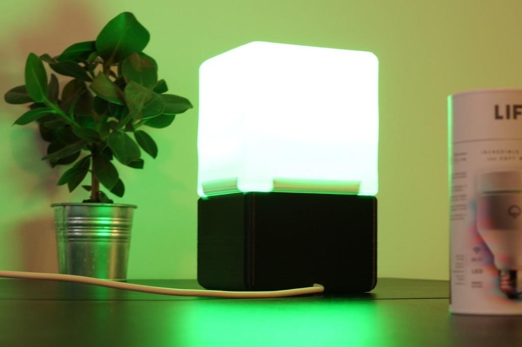 0ceb1a19fe10ce223079d875c0fbdacc_display_large.JPG Download free STL file Cube Lamp • Design to 3D print, csigshoj