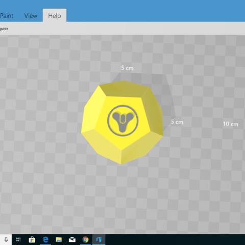 Screenshot (7).png Download free STL file  Exotic engram simple • 3D print model, Tempuraz