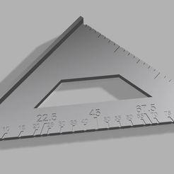 Render 1.JPG Télécharger fichier STL Mini Speed Square • Objet à imprimer en 3D, OriginalPrecision