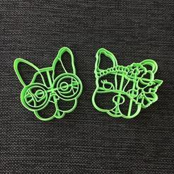 Descargar modelos 3D para imprimir Simones Dogs - Pack x 2 Cookie Cutter, 3dcookiecutterscom