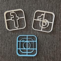 chrome_2020-08-25_18-05-09.png Télécharger fichier STL Tik Tok Instagram Logo Facebook Cookie Cutter • Plan pour impression 3D, 3dcookiecutterscom