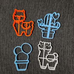 chrome_2020-08-27_16-16-45.png Télécharger fichier STL Coupeuse de biscuits pour lamas et cactus • Plan pour impression 3D, 3dcookiecutterscom