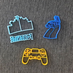 chrome_2020-08-25_18-05-03.png Download STL file Fortnite PS4 Joystick • 3D print template, 3dcookiecutterscom