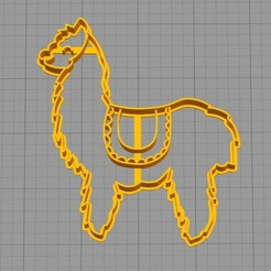 Download 3D printing templates Fortnite Llama - Cookie cutter, 3dcookiecutterscom
