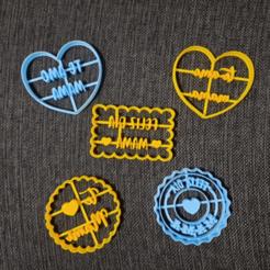 chrome_2020-08-31_23-19-21.png Télécharger fichier STL Kit de découpe de biscuits pour la fête des mères x 5 • Design imprimable en 3D, 3dcookiecutterscom