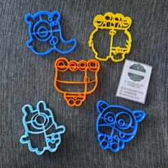 chrome_2020-08-27_16-16-36.png Télécharger fichier STL Paquet de monstres x5 Coupe-biscuits • Modèle pour impression 3D, 3dcookiecutterscom