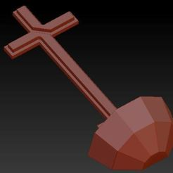 cross1.JPG Télécharger fichier OBJ Cross Low Poly • Modèle pour impression 3D, yazcnc