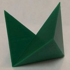 Download free STL files Regular Octahedron Dissection, Puzzle, Platonic Solid, playmeforafool