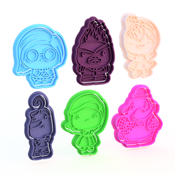 Screenshot_1.png Download STL file Inside Out cookie cutter set of 6 • Model to 3D print, roxengames