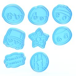 Screenshot_2.png Télécharger fichier STL Stranger things cookie cutter set de 8 • Modèle pour imprimante 3D, roxengames