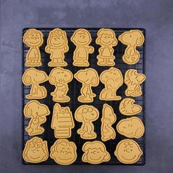 il_794xN.2075538318_a81i.jpg Download STL file Snoopy Cookie Cutters set of 20 • Object to 3D print, roxengames