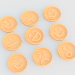 Screenshot_1.png Download STL file Smiles cookie cutter set of 9 • 3D print model, roxengames