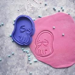 Download 3D printer model Futurama | Zoidberg cookie cutter, roxengames