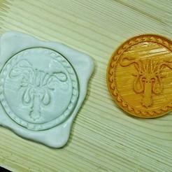 GOT3.jpg Télécharger fichier STL Jeu de Thrones Cookie Cutter. Maison Greyjoy Sigil • Design à imprimer en 3D, roxengames