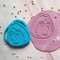 Télécharger plan imprimante 3D Lois Griffin Coupeuse de biscuits, roxengames