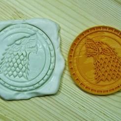 GOT4.jpg Télécharger fichier STL Jeu de Thrones Cookie Cutter. Maison Stark • Plan à imprimer en 3D, roxengames