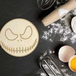 Download STL file Halloween Jack Skellington Cookie Cutter, roxengames