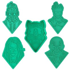 стражи.jpg Télécharger fichier STL Gardiens de la Galaxie ensemble de 5 Rocket Raccoon, Gamora, Groot, Peter Quill / Star-Lord, Drax the Destroyer • Design pour imprimante 3D, roxengames