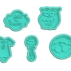 Screenshot_2.jpg Download STL file Harry Potter cookie cutter set of 5 • 3D printable model, roxengames