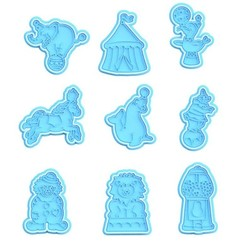 Screenshot_2.jpg Download STL file Circus cookie cutter set of 9 • 3D printer object, roxengames