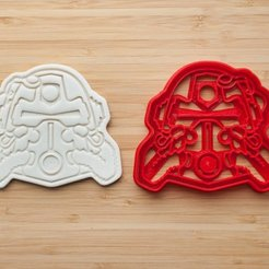 3D print files Fallout power armor cookie cutter, roxengames