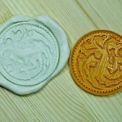 GOT2.jpg Télécharger fichier STL Jeu de Thrones Cookie Cutter. Maison Targaryen • Modèle à imprimer en 3D, roxengames