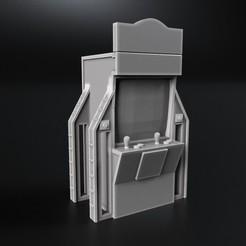 Descargar modelos 3D gratis máquina recreativa Cyberpunk, 3DForge
