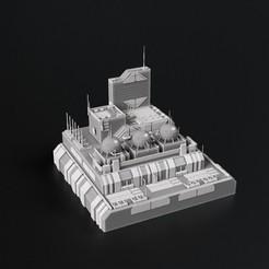 A.JPG Télécharger fichier OBJ gratuit Bâtiments de front 6mm • Objet pour imprimante 3D, 3DRune