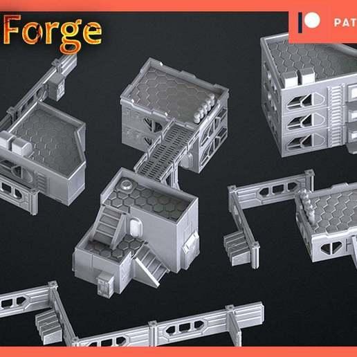 Download free 3D printing files infinity rack terrain, 3DRune