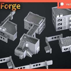 Download free 3D printing files infinity rack terrain, 3DRune
