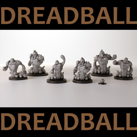 Download 3D printer model Dreadball team, 3DForge