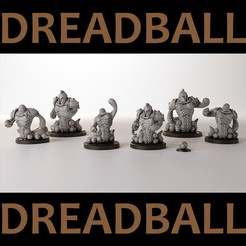 Download 3D printer model Dreadball team, 3DForge