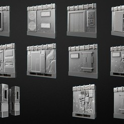 Download free 3D printing templates OpenLock Cyberpunk, 3DForge