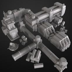 2020-04.jpg Télécharger fichier OBJ Complexe de laboratoires • Objet pour imprimante 3D, 3DRune