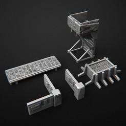 2019-08-S.jpg Télécharger fichier STL Ensemble cyberpunk de banlieue - Atout • Design imprimable en 3D, 3DRune