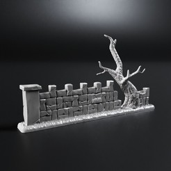 Download free 3D printing templates Protective fence, 3DForge