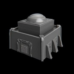 Download STL files terrain futuristic warhammer battletech, 3DForge