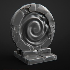 3D printer models Magic Vortex D&D, 3DForge