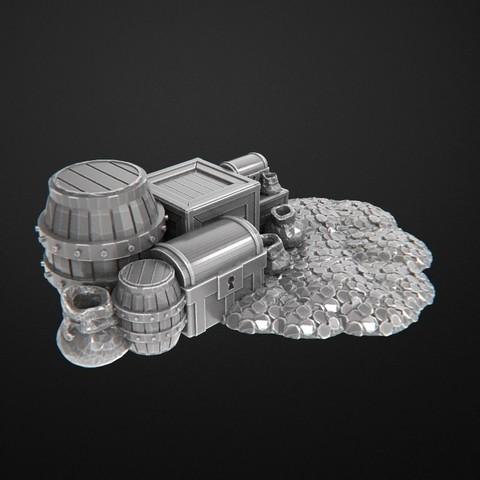 Descargar archivo 3D gratis tesours, 3DRune