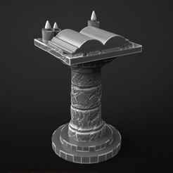 mansion06.jpg Download free OBJ file Altar for the Mansions of Madness • 3D printer object, 3DRune