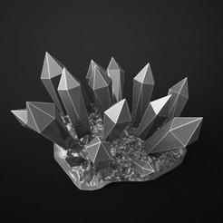 Télécharger plan imprimante 3D gatuit Roche de cristal, 3DForge