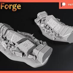 Télécharger modèle 3D gratuit Des ruines usées par le temps, 3DForge