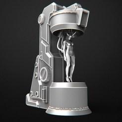 2019-07-M.jpg Télécharger fichier OBJ capsule cryogénique • Objet à imprimer en 3D, 3DRune