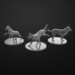 Download free 3D print files Dogs Company Zombicide, 3DForge