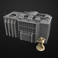 ASDF.jpg Télécharger fichier OBJ gratuit Bâtiment battletech & Warhammer 40k • Modèle pour imprimante 3D, 3DRune